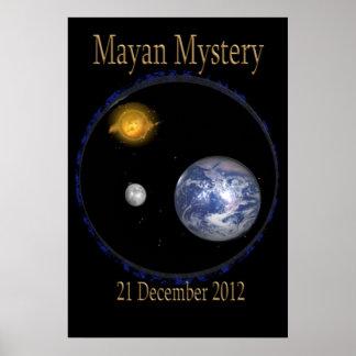 マヤの2010年のミステリーポスター ポスター