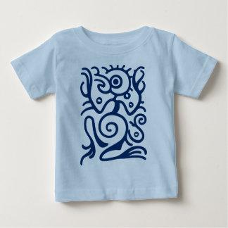 マヤのBirdmanの記号 ベビーTシャツ