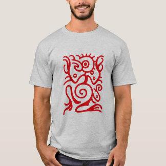 マヤのBirdmanの記号 Tシャツ