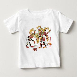 マヤ文化デザイン ベビーTシャツ