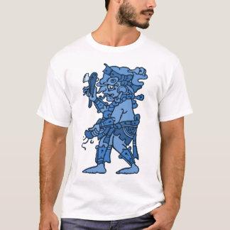 マヤ雨神の青 Tシャツ