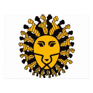 マラウィのライオン王 ポストカード
