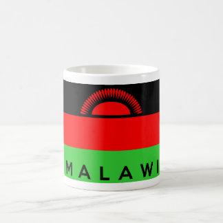 マラウィの国旗の記号の名前の文字 コーヒーマグカップ