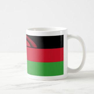 マラウィの旗のコーヒー・マグ コーヒーマグカップ
