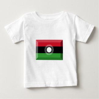 マラウィの旗の宝石 ベビーTシャツ