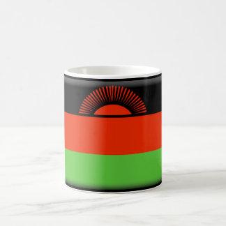 マラウィの旗 コーヒーマグカップ