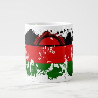 マラウィの旗 ジャンボコーヒーマグカップ