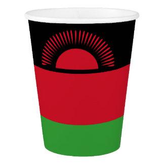 マラウィの旗 紙コップ