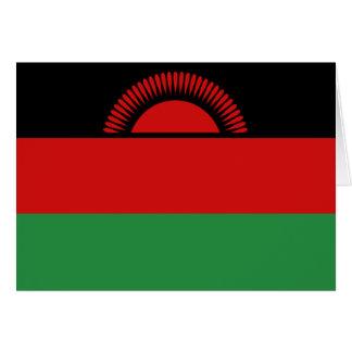 マラウィの旗Notecard カード