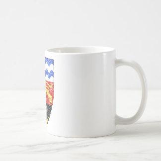 マラウィの紋章付き外衣 コーヒーマグカップ