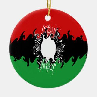 マラウィ|すごい|旗 クリスマスオーナメント