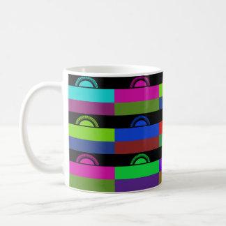 マラウィMultihueはマグに印を付けます コーヒーマグカップ