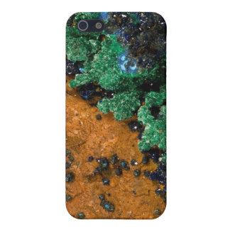 マラカイトアズライトGeode iPhone 5 ケース