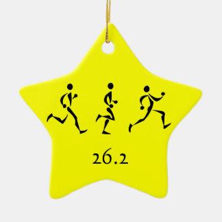 マラソンのインスピレーション セラミックオーナメント