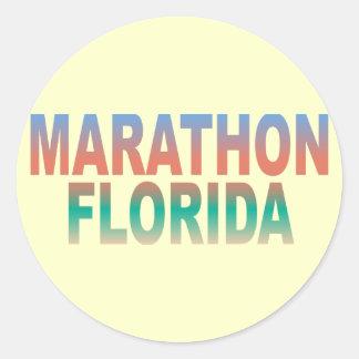 マラソンのフロリダの鍵 ラウンドシール