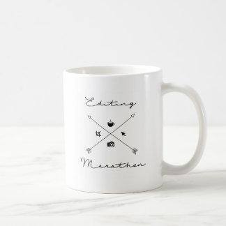 マラソンのマグの編集 コーヒーマグカップ