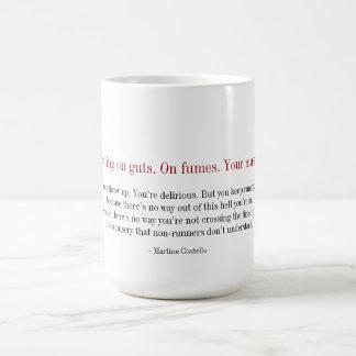 マラソンのマグ-内臓であなたは走ります。 発煙 コーヒーマグカップ