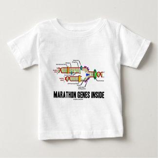 マラソンの遺伝子の内部(DNAの写し) ベビーTシャツ