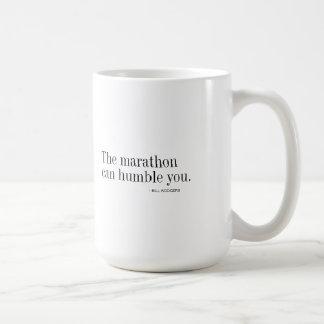 マラソンは-コーヒー・マグ卑しめることができます コーヒーマグカップ