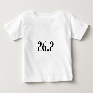 マラソン選手のためのレシピ ベビーTシャツ