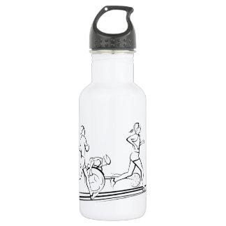マラソン選手の水差し ウォーターボトル