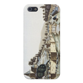 マラッカ、マレーシアのillustratiの港そして町 iPhone 5 cover