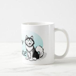 マラミュート犬 コーヒーマグカップ
