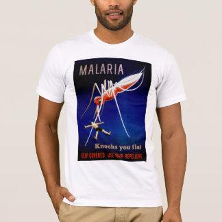 マラリア殺害 Tシャツ