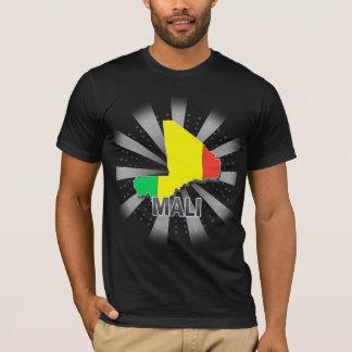 マリの旗の地図2.0 Tシャツ