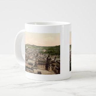マリアの平野、オーストリアからのザルツブルク ジャンボコーヒーマグカップ