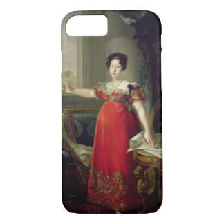 マリアイザベルde Braganza 1829年女王夫人(油 iPhone 8/7ケース