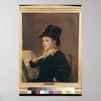 マリアノGoya 1815-17年のポートレート ポスター