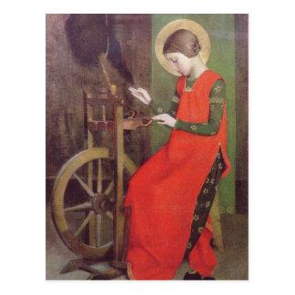 マリアンヌによるハンガリーのStエリザベスはかき立てます ポストカード