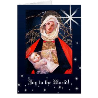 マリアンヌStokes.Christmasカードによるマドンナ カード