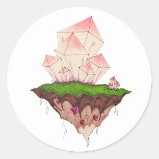 マリオの水晶 ラウンドシール