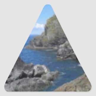 マリオンの入江 三角形シール