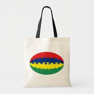マリシャスのすごい旗のバッグ トートバッグ