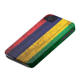 マリシャスの古い木の旗 iPhone 4 Case-Mate ケース