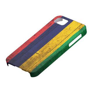 マリシャスの古い木の旗 iPhone SE/5/5s ケース