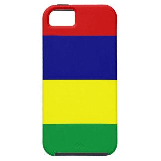 マリシャスの国旗の箱 iPhone SE/5/5s ケース