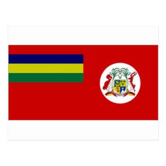 マリシャスの市民旗 はがき