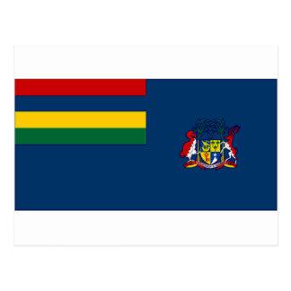 マリシャスの政府の旗 ポストカード
