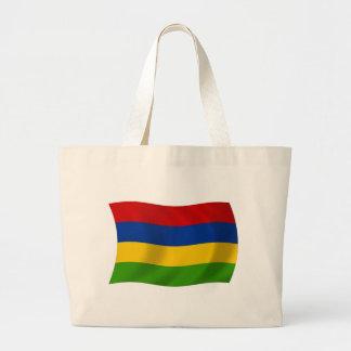 マリシャスの旗のトートバック ラージトートバッグ