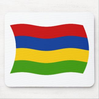 マリシャスの旗のマウスパッド マウスパッド