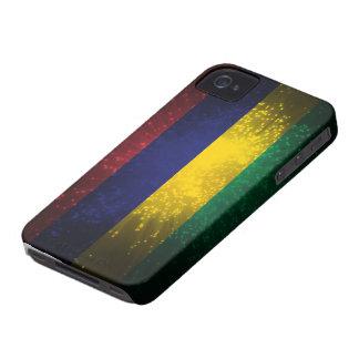 マリシャスの旗の花火 iPhone 4 カバー