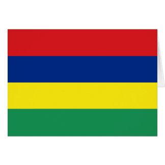マリシャスの旗カード カード