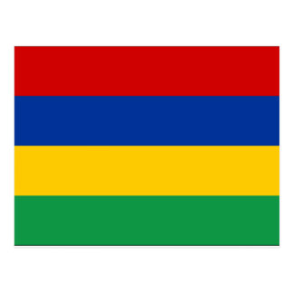 マリシャスの旗 はがき