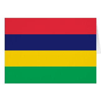 マリシャスの旗 カード