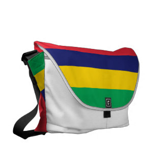 マリシャスの旗 クーリエバッグ