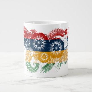 マリシャスの旗 ジャンボコーヒーマグカップ